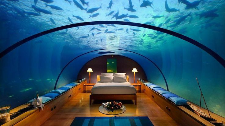 Habitación subacuática