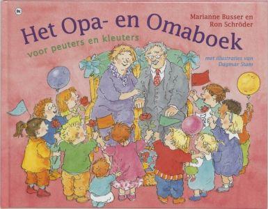 Het opa- en omaboek voor peuters en kleuters - Marianne Busser #Kinderboekenweek2016
