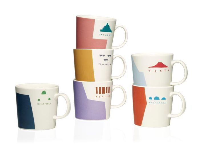 Check out these new Iittala City Mugs!