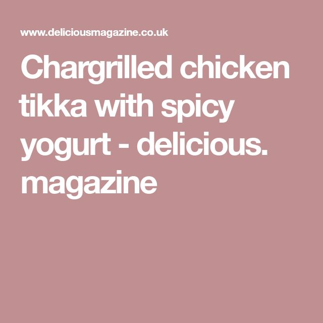 Chargrilled chicken 