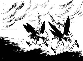 De wapenwedloop van de Sovjet Unie ging wel goed