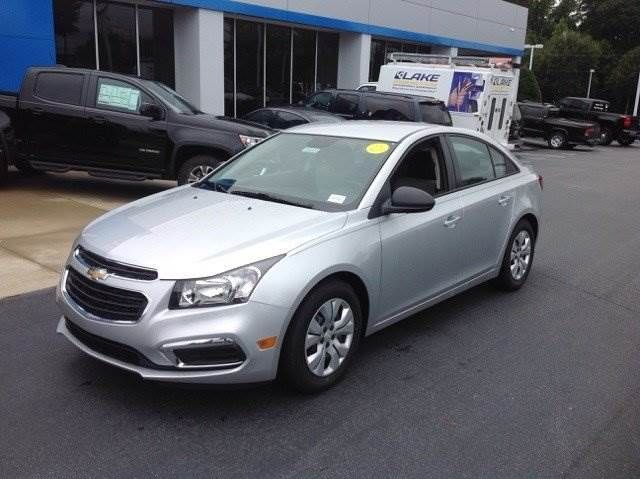 2016 Chevy Cruze Limited in Silver Ice Metallic #TheCarThatGoesFar #Chevrolet