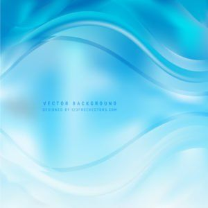 Abstract Light Blue Wave Background Template #freevectors