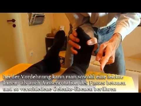 Dorn-Methode - Beinlängen-Testung und Korrektur - YouTube