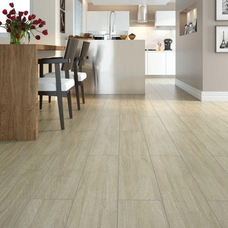 Não se preocupe com o chão, use um piso vinílico! É mais fácil de limpar, absorve o som ao impacto, é resistente, hipoalergênico e é durável! :D