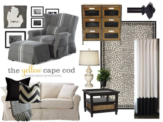 The Yellow Cape Cod: An Unused Dining Room Becomes A Chic Family Planning Center
