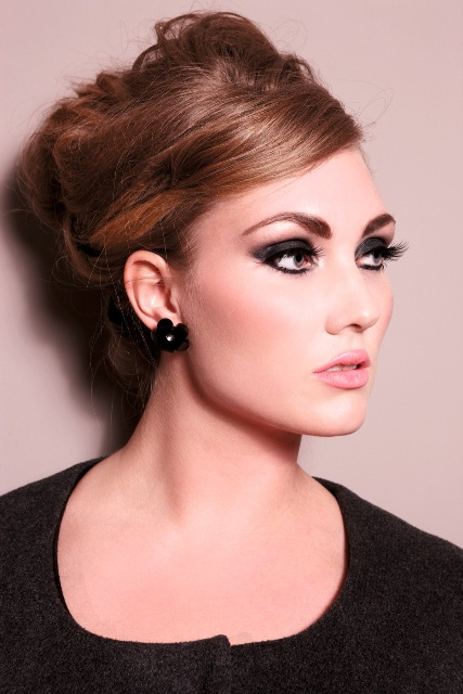 Make up and Hair created by Me for Anna Scholz fashion campaign a/w'11 plus Size