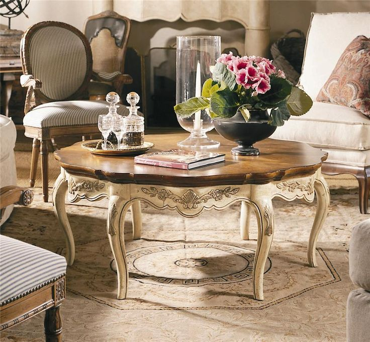 Coeur De France Cocktail Coffee Table By Century. Cocktail TablesCoeur Du0027 AleneFurniture ...