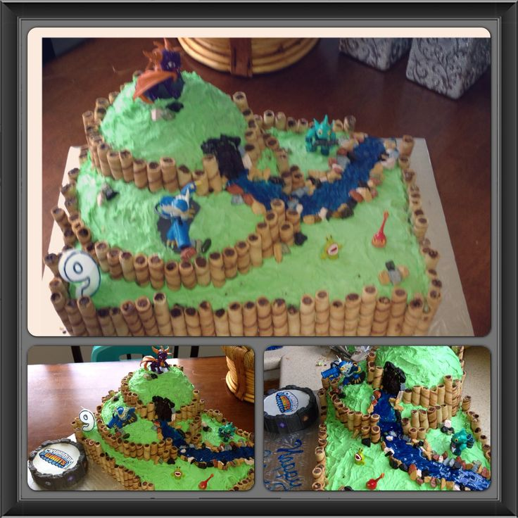 Skylanders Cake Ideas For Boys 11987 Skylanders Cake Cake