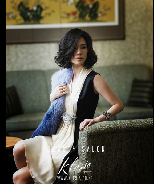Kim Hyun Joo (김현주) ~ Photoshoot by Korean Beauty Salon 'Klesia' (클레시아)