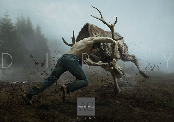 PRINT - Wild Process - Arturo Calle Jeans on Advertising Served