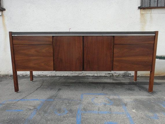 Danish Credenza Los Angeles : Reserve lance danish modern media storage credenza los angeles