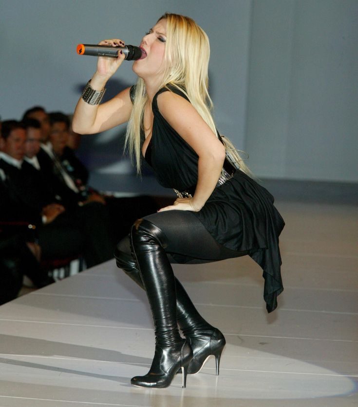 You talent upskirt pantyhose and knee high boots confirm