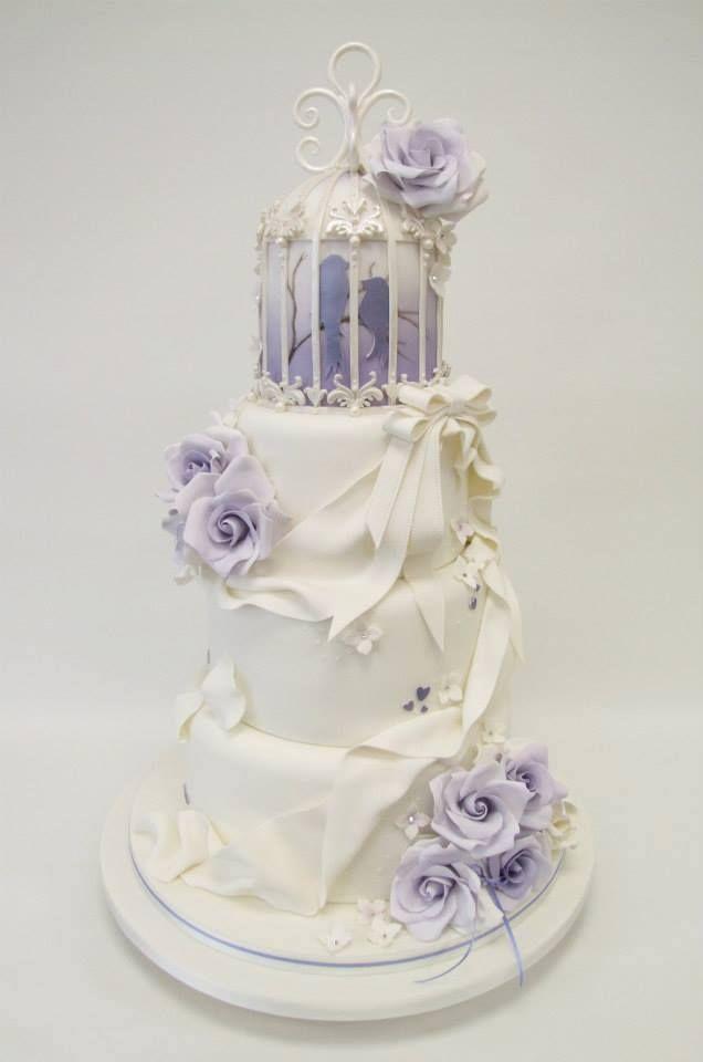 gâteaux de mariage vert océan mariage idées de mariage la cage ...