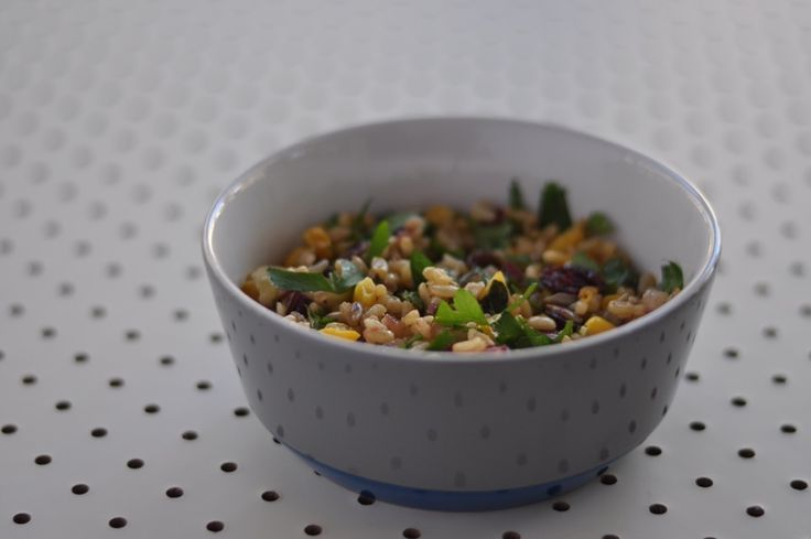 Bejewelled Brown Rice Salad - Little Bit of Thyme