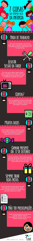 #SevenList #Art #Design #Infográfico #Diadascrianças #Kids #Infância #12deoutubro #Criança #Life #Saudade