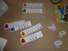 Make this toddler activity to teach your young children to match letters to spell color words with my FREE printable activity sheets.