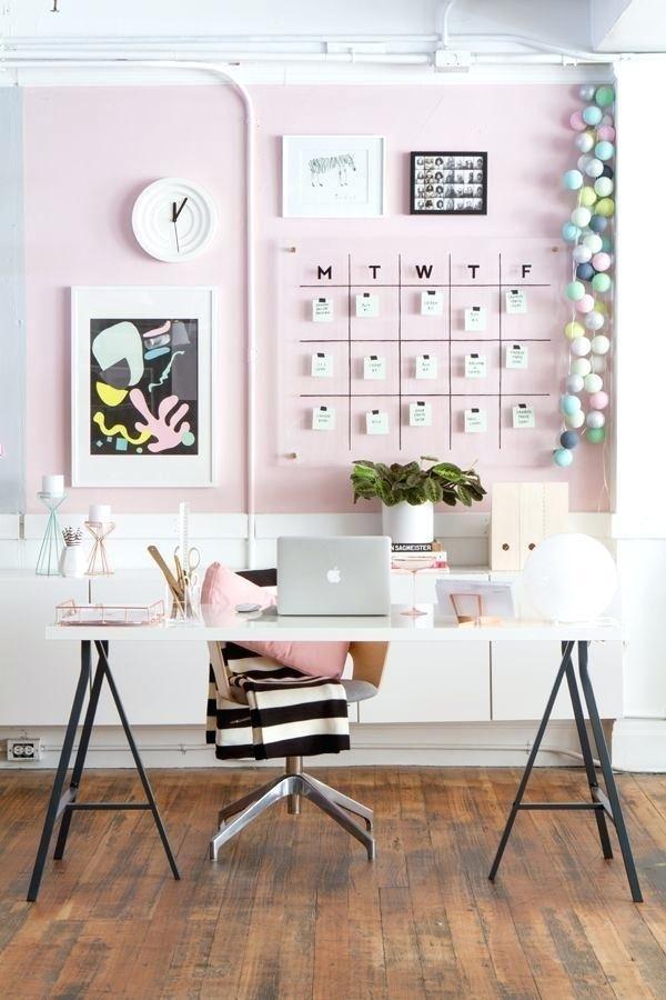 Girly Office Home Office Design Dorm Wall Decor Wall Decor Bedroom
