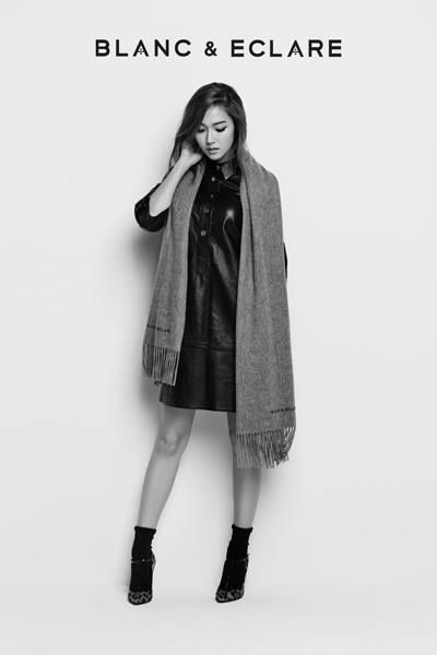 Jessica Jung for Blanc & Eclare Winter 2014 Ad 3