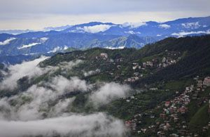 You can visit nice view of Mountains in Kashmir.