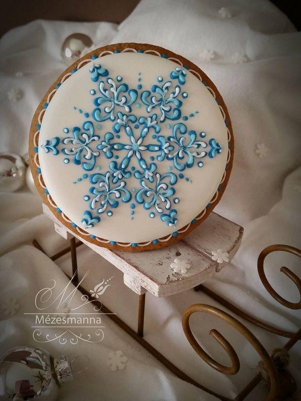 Biscoitos decorados por Mézesmanna;
