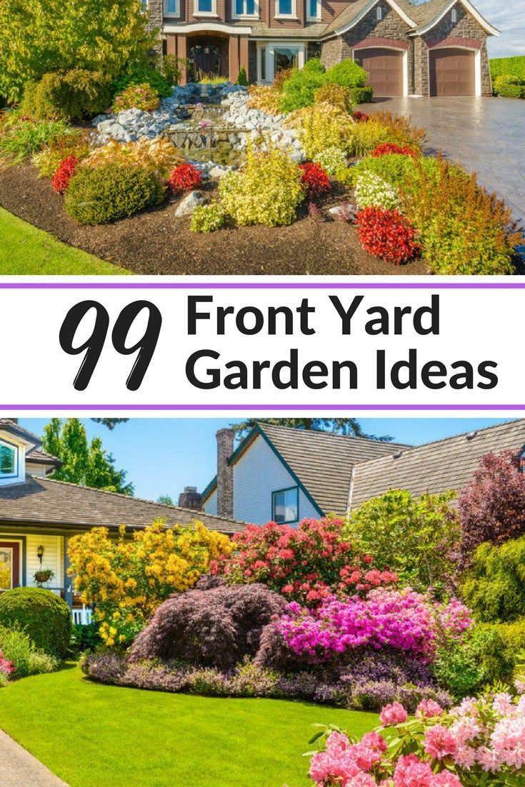 12 cool front yard garden ideas. All sizes, shapes and concepts ...