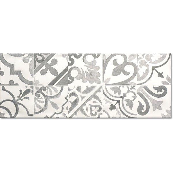 Kolekcja Chalk - płytki ścienne Chalk Remind Grey 25x66,6