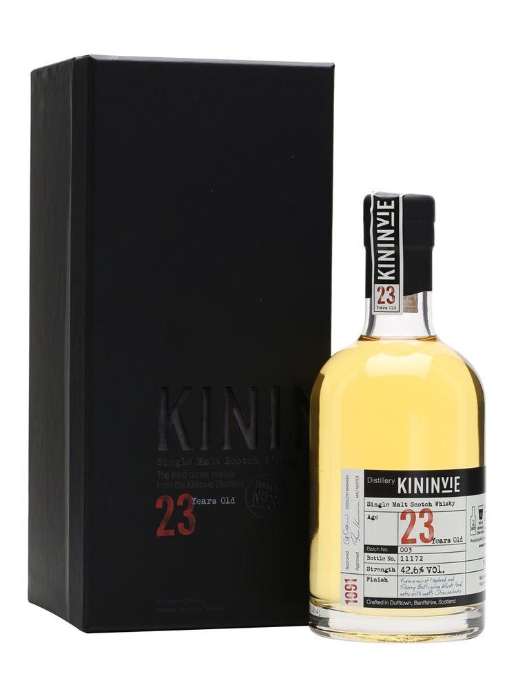 Kininvie 23 Review: TWE Show Report #scotch #whisky #whiskey #malt #singlemalt #Scotland #cigars