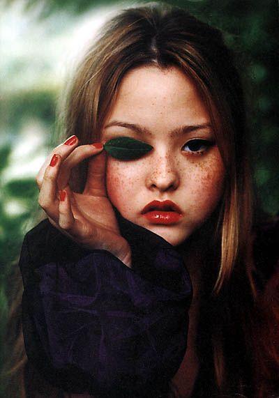 Devon Aoki photographed by Ellen von Unwerth for i-D, September 1998