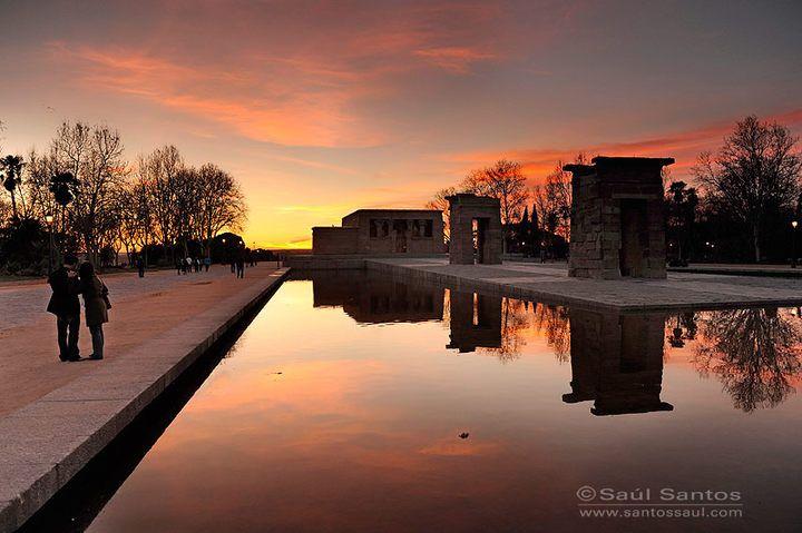 Templo de Debod, Madrid. Espa