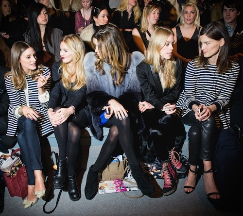 Love it, both Olivia Palermo and Hanneli Mustaparta both sitting front row at the Tibi show, and both wearing the same stripe Tibi jacket.Fashion Weeks, Fall 2012, Frontrow, New York Fashion, Olivia Palermo, Fashion Inspiration, Nyfw 2012, Row Celebrities, Front Row