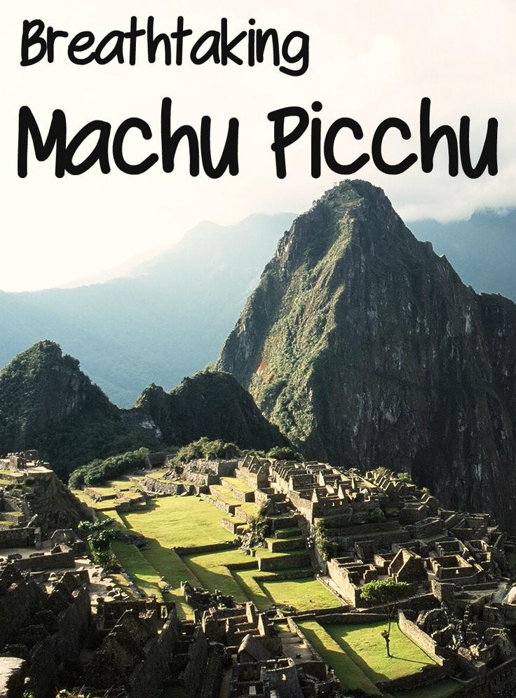 Amazing holidays to Machu Picchu - holidays to South America.