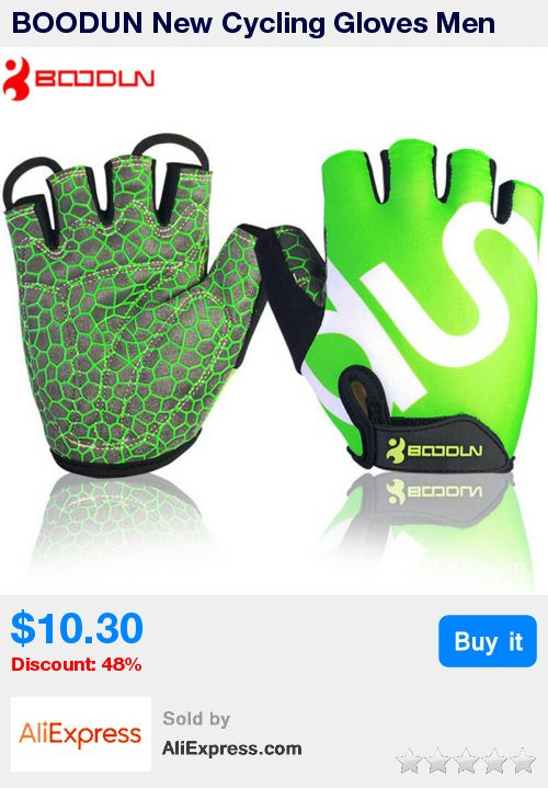 BOODUN New Cycling Gloves Men Silica GEL Shockproof Half Finger Cycling Gloves Bicycle Bike Guantes Bicicleta Ciclismo Luvas * Pub Date: 02:38 Oct 22 2017