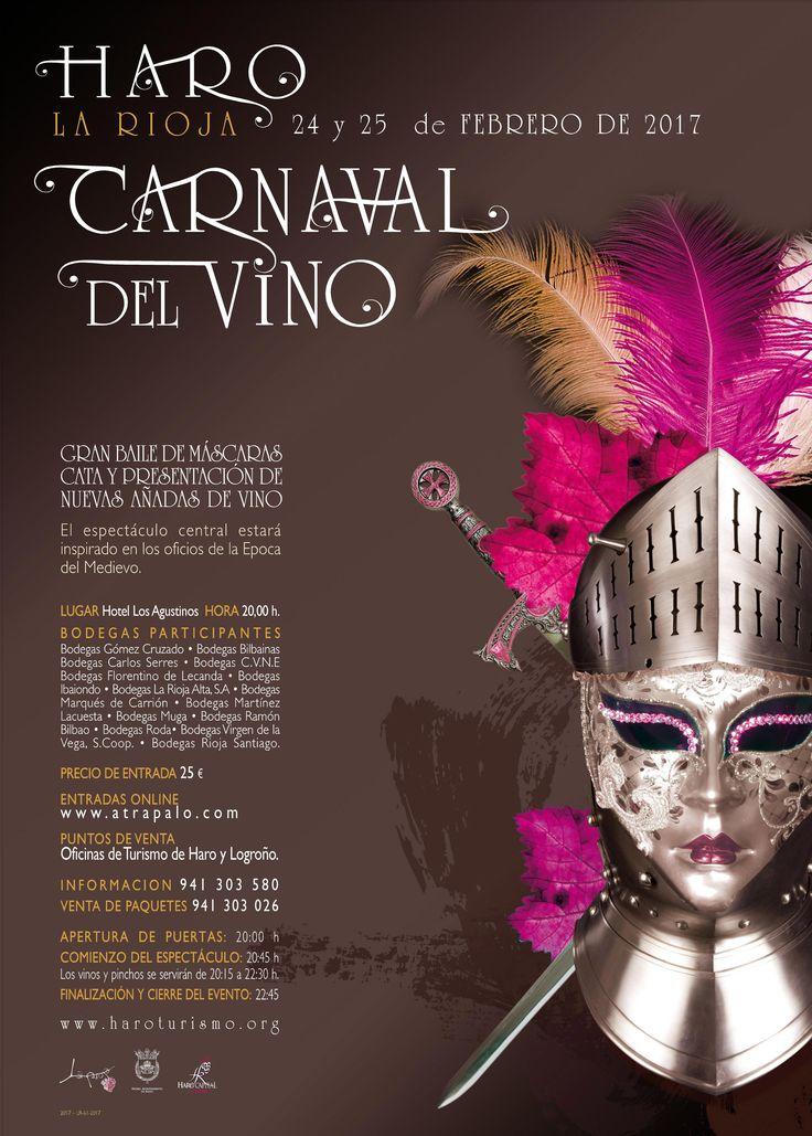 Ir preparando los disfraces!!!!! Diseño del cartel de nuestro Carnaval del vino para este año.