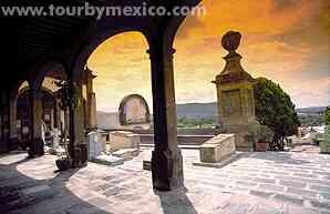 """Museum of the Santa Veracruz or """"Museo de la Muerte"""" in San Juan del Rio, Queretaro, Mexico. www.tourbymexico.com"""