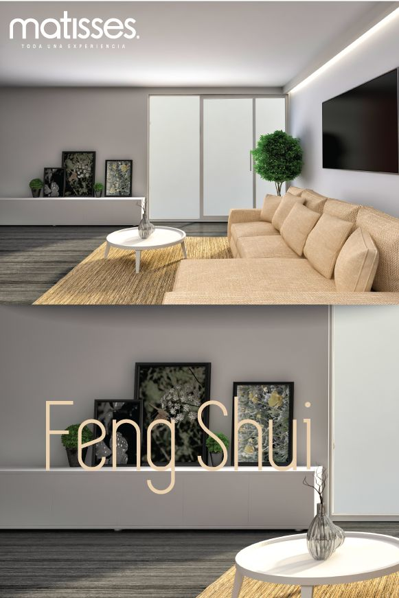 """Feng Shui: Para que no se generen bloqueos energéticos, los muebles del living deben estar ubicados en forma de """"L"""" o """"U"""", de tal forma que su respaldo no esté acomodado hacia una entrada."""