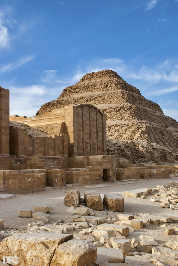 Saqqara Pyramid, Egypt by Dan Carver