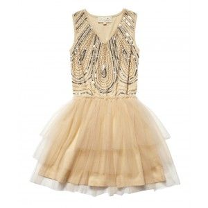 This would be perfect for the flower girls if it was the right color...1920's theme :)