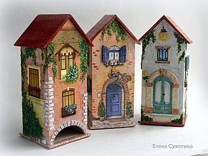 Чайные домики в подарок! | Ярмарка Мастеров - ручная работа, handmade