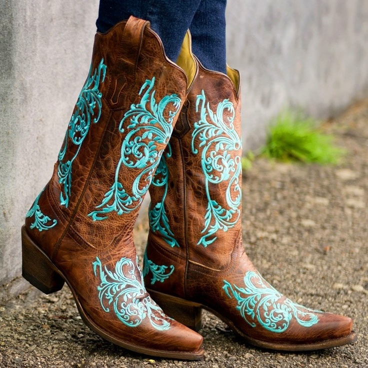 Cute cowgirl boots!
