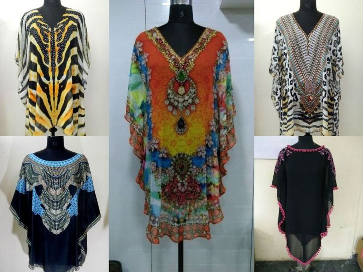 Indibala Collections  Range of Fashionable and Trendy #Summer #Spring Women's Clothing at wide price range covers beautiful Polyester to Luxury 100% Silk. We bring #SummerSpring Collections of beautiful Digital Printed #Kaftans for beach and pool wear. Al