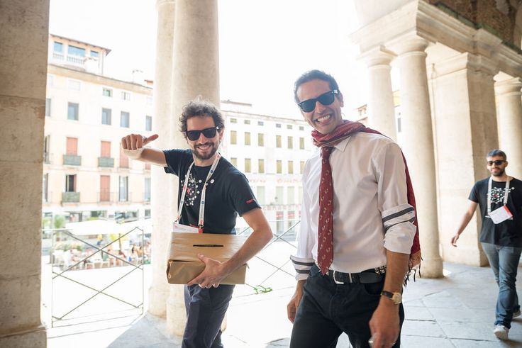 Happy faces at TEDxVicenza  #TEDxVicenza #PlantingTheSeeds #TEDx #Vicenza