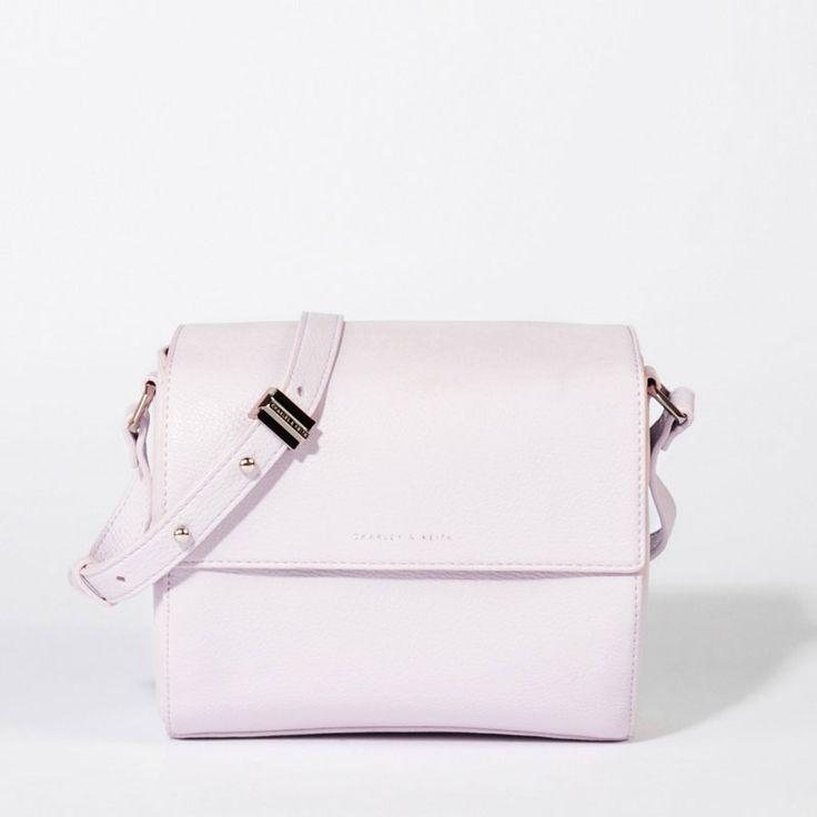 Crossbody Satchel - Lilac - Satchel - Bags   CHARLES & KEITH