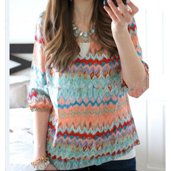 New Print Long Sleeved T-shirt Item NO. CBS000467650N Rs.472.00 and 43% off