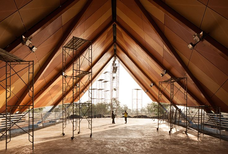Drill Hall, Port Moresby, Papua New Guinea by Warren and Mahoney