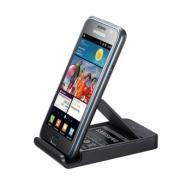 Plaats je Galaxy S in de Bureau Stand  en lever tegelijkertijd de extra meegeleverde batterij op! Zo heb je als Galaxy S gebruiker altijd een volle batterij achter de hand.