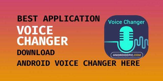 Download Aplikasi Pengubah Suara Terbaik Di Android Suara Aplikasi Coding