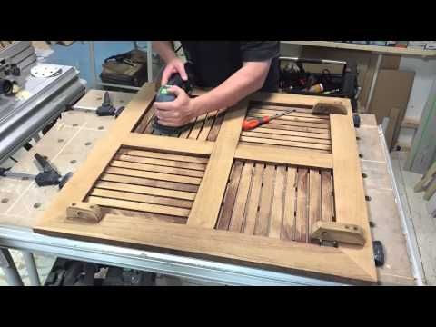 TimeLapsed view of sanding an old garden table, with my loved festool ROTEX RO 125 sander.