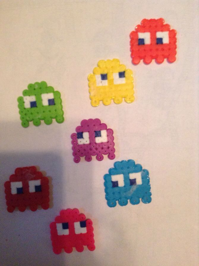 These are wax bead creations that I made :)