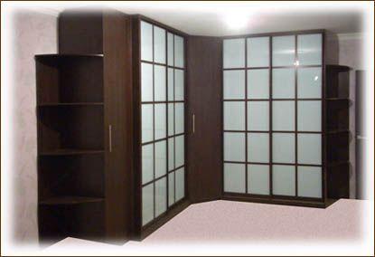Угловые шкафы и угловые шкафы-купе | Шкафы-купе на заказ от производителя